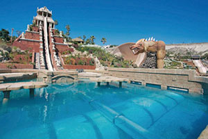 Tower of Power im Siam Park auf Teneriffa