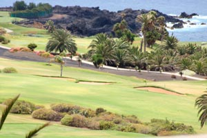 View to the Golf course in Golf del Sur onTenerife