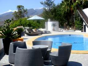 Tenerife south west | Holiday home 🌴 on green Fincaoasis with pool 🌴 Eco garten 🌴 WiFi