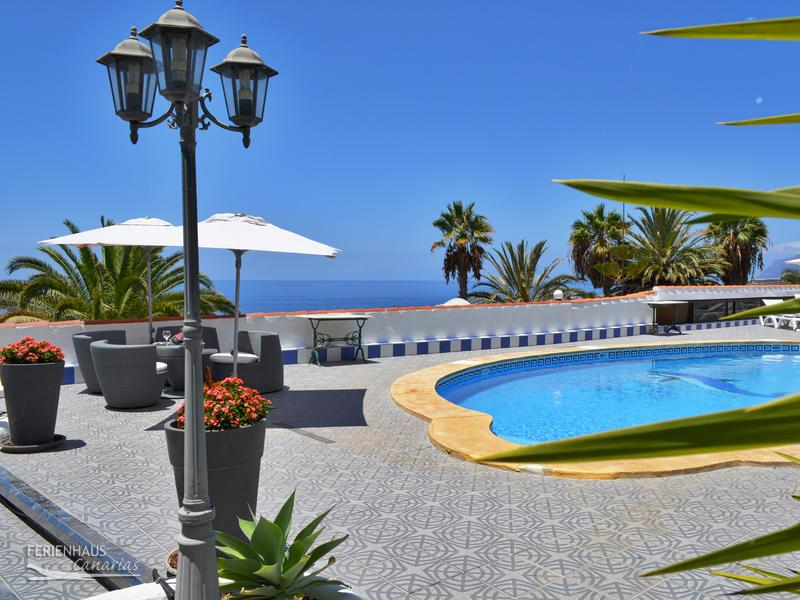 Ferienhaus Teneriffa Mit Pool , Ferienwohnung 2 Auf Fincaoase Mit Beheizten Pool ✓ Garten Wifi
