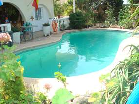 Holiday apt (2bedrooms) in private house with pool near El Médano