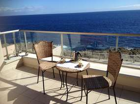 Apartment pool and ocean view - Tenerife south