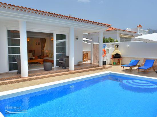 Ferienhaus Teneriffa Mit Pool , Geflegte Villa 3 Mit Beheiztem Pool Safe A C Billardtisch Wlan U