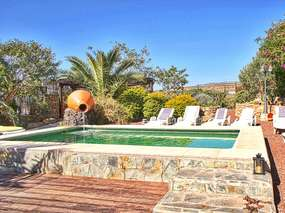 Apartment in Afinca with Garden and Pool in El Rio / Arico