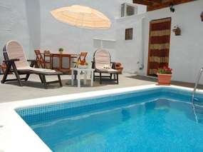 Holiday house with private pool near Granadilla - Tenerife South
