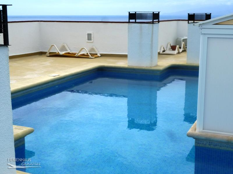 Apartment With Great View Terrace Pool In Puerto Santiago