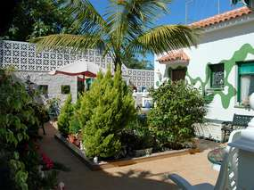 Colorful apartment with terrace & garden paradise - La Orotava