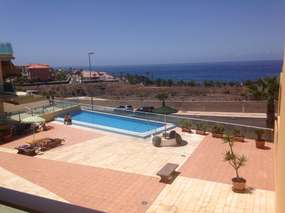 Meerblickapartment mit Balkon Pool - Playa San Juan