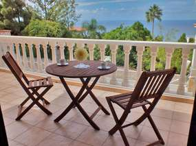 Nice apartment with sea view on a private patio in Puntillo del Sol/ Tenerife