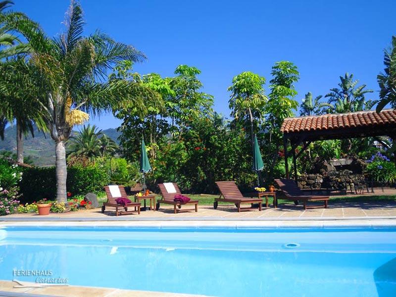 ferienhaus auf einer finca mit pool blick auf 39 s meer vielem mehr in teneriffa nord. Black Bedroom Furniture Sets. Home Design Ideas