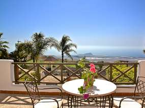Holiday apartment 1 on wellness finca in the south of Tenerife