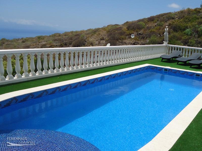 ferienhaus mit panorama meerblick beheizb privatpool oberhalb costa adeje. Black Bedroom Furniture Sets. Home Design Ideas