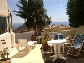 Big countryhouse with garden, sea view, WiFi and heated pool - (8 people)