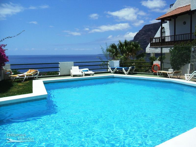ferienwohnung in los gigantes pool terrasse mit meerblick u mehr. Black Bedroom Furniture Sets. Home Design Ideas