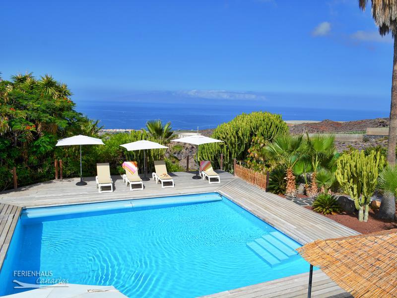 ferienwohnung auf finca tropischer garten beheizter pool wlan poolbar. Black Bedroom Furniture Sets. Home Design Ideas
