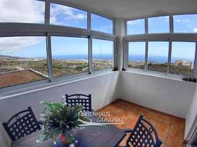 Tenerife South - Holiday apartment in quiet location with sea view
