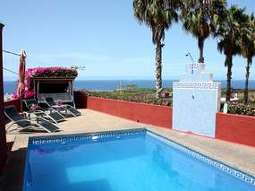 Apartment with 2 bedrooms on quiet finca - Tenerife north