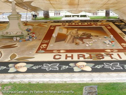 Fronleichnam 2018 Teneriffa Alfombras De Corpus Christi