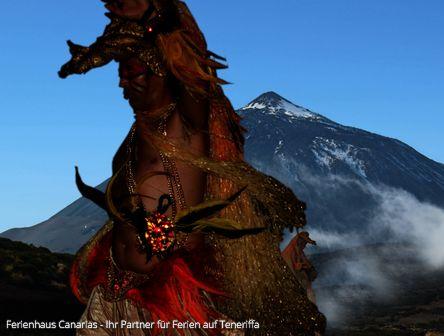 Guayota: Dämon aus den Tiefen des El Teide