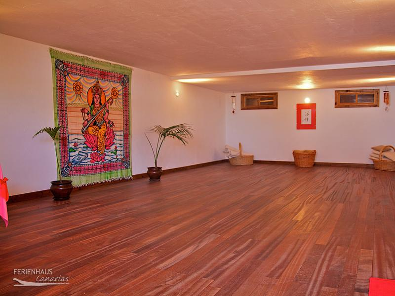 Yoga Raum auf Teneriffa