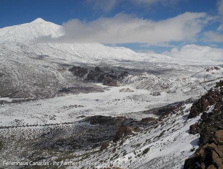 Teneriffa - Teide im Schnee