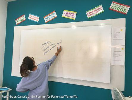Spanisch lernen in der Sprachschule Bla in El Medano