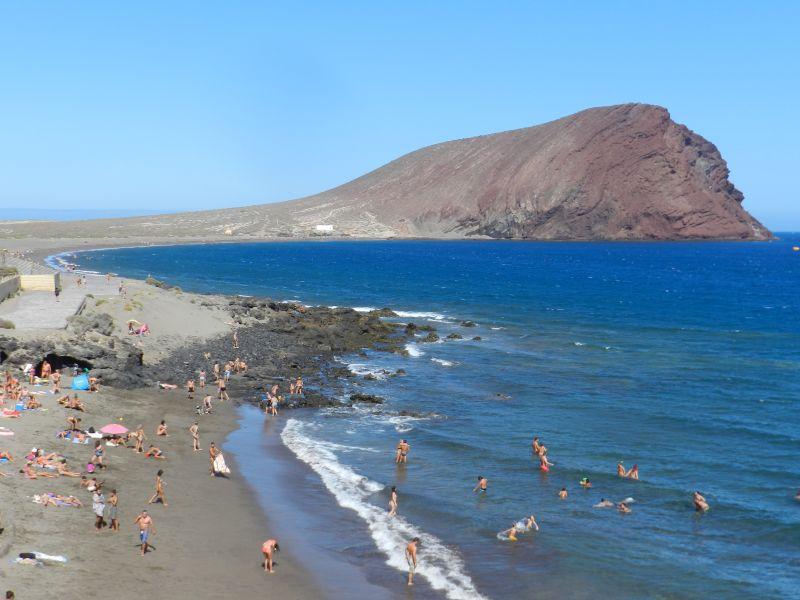 El Medano Blick auf die Badebucht