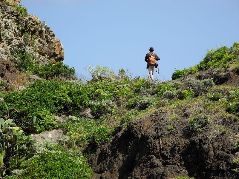 Wanderer im Anaga Gebirge