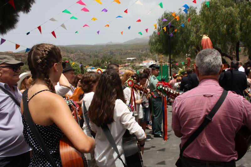 Kanarische Fiesta mit Musik & Tiple Spieler